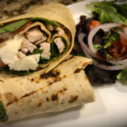 Italian Chicken Wrap Lunch Special Naples
